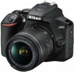 Digitální zrcadlovka Nikon D3500 + objektiv 18-55mm, černá