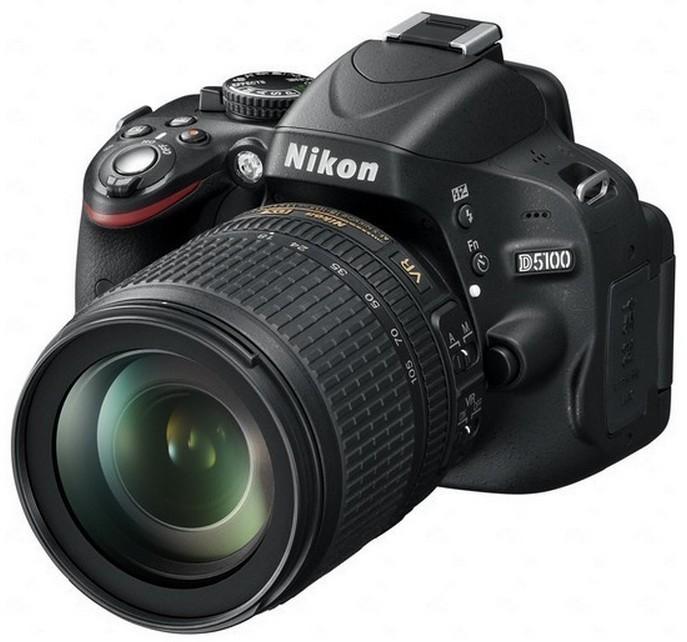 Digitální zrcadlovka Nikon D5100 + 18-105 AF-S DX VR