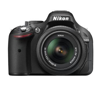 Digitální zrcadlovka NIKON D5200 + 18-55 AF-S DX VR II + 55-200 AF-S VR ROZBALENO