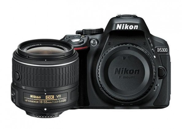 Digitální zrcadlovka Nikon D5300 + 18-55 AF-S DX VR II