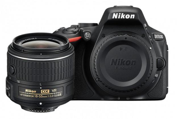 Digitální zrcadlovka Nikon D5500 + 18-55mm VR II Black KIT