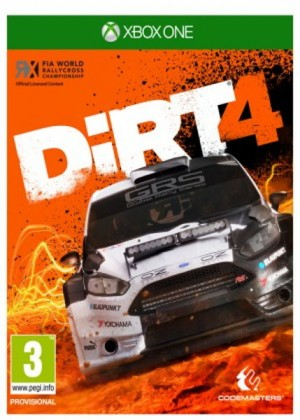 DiRT 4 XONE - 483137 - 4020628789879 - Codemasters
