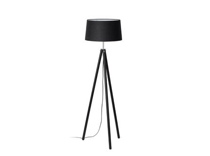 Dix - Podlahová lampa (černá)