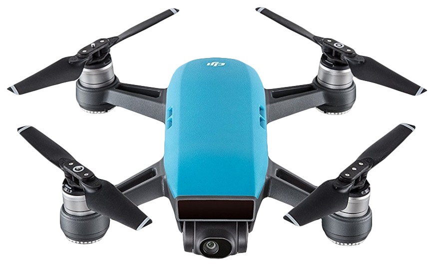 DJI Spark Fly More Combo, Sky Blue version, DJIS0201C