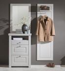 Domi - Kombi 01, zrcadlo, komoda 3 zásuvky, šatní panel (kašmír)