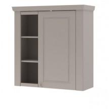 Domi - Skříňka závěsná pravá, 1x dveře, 3x police (kašmír)