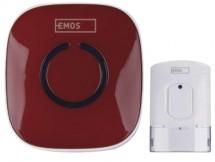 Domovní bezdrátový zvonek Emos P5718R AC 838R RUD
