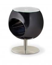 Donna - Konferenční stolek (černá)