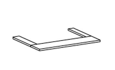 Doplněk Cassanova - Světelná rampa (pro 2-dvéřovou skříň)