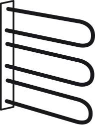 Doplněk Match Up - Věšák na opasky a kravaty