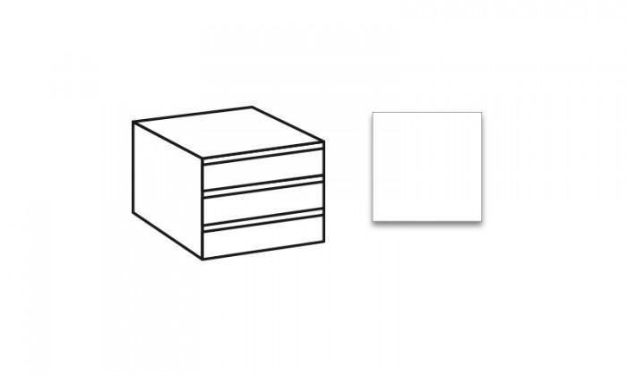 Doplněk Match Up - Vnitřní zásuvky (alpská bílá)