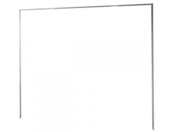 Doplněk Medina - Římsa na šatní skříň 300 cm (alpská bílá)