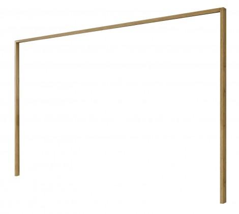 Doplněk Padua - Paspartový rám pro skříň, š. 250 cm (dub balken)