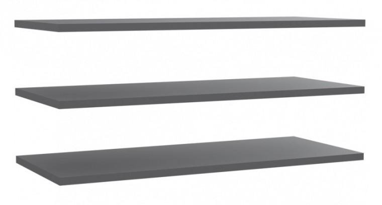 Doplněk Starlet Plus - Set 3 polic 108 cm (pro STPS124E1) (šedá)