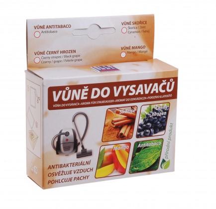 Doplňky Vůně do vysavače - antitabacco - 5 ks