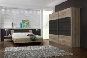 Dora - komplet velký, postel 160cm (dub, wenge)