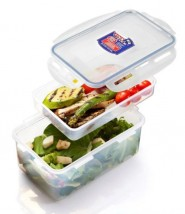 Dóza na potraviny Lock&Lock HPL817HI, přihrádka, 1,4L