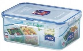 Dóza na potraviny Lock&Lock HPL825B, dělená, 2,3l