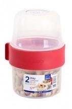 Dóza na potraviny Lock&Lock LLS211, 2V1, 2x150ml