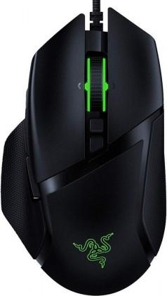 Drátová herní myš Razer Basilisk V2, 20 000 dpi, černá
