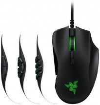 Drátová herní myš Razer Naga Trinity, 16 000 dpi, černá