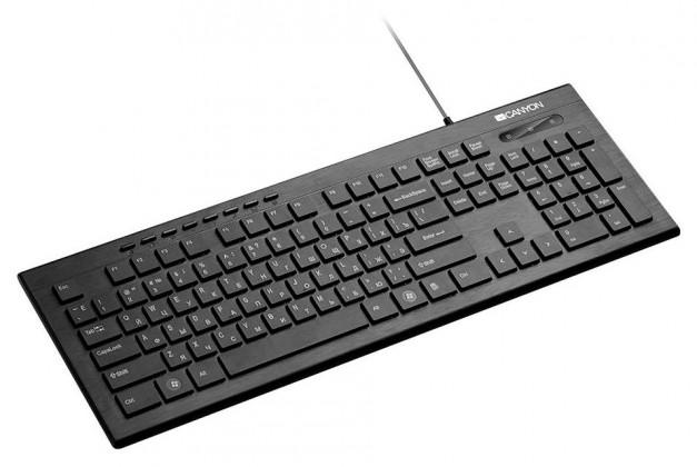 Drátová klávesnice Canyon CNS-HKB2-CS