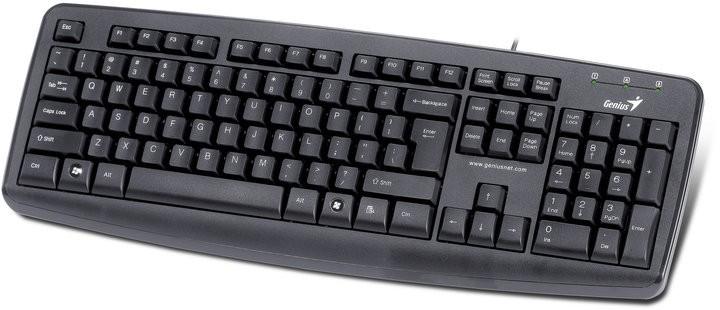 Drátová klávesnice Genius KB-110X CZ+SK černá USB