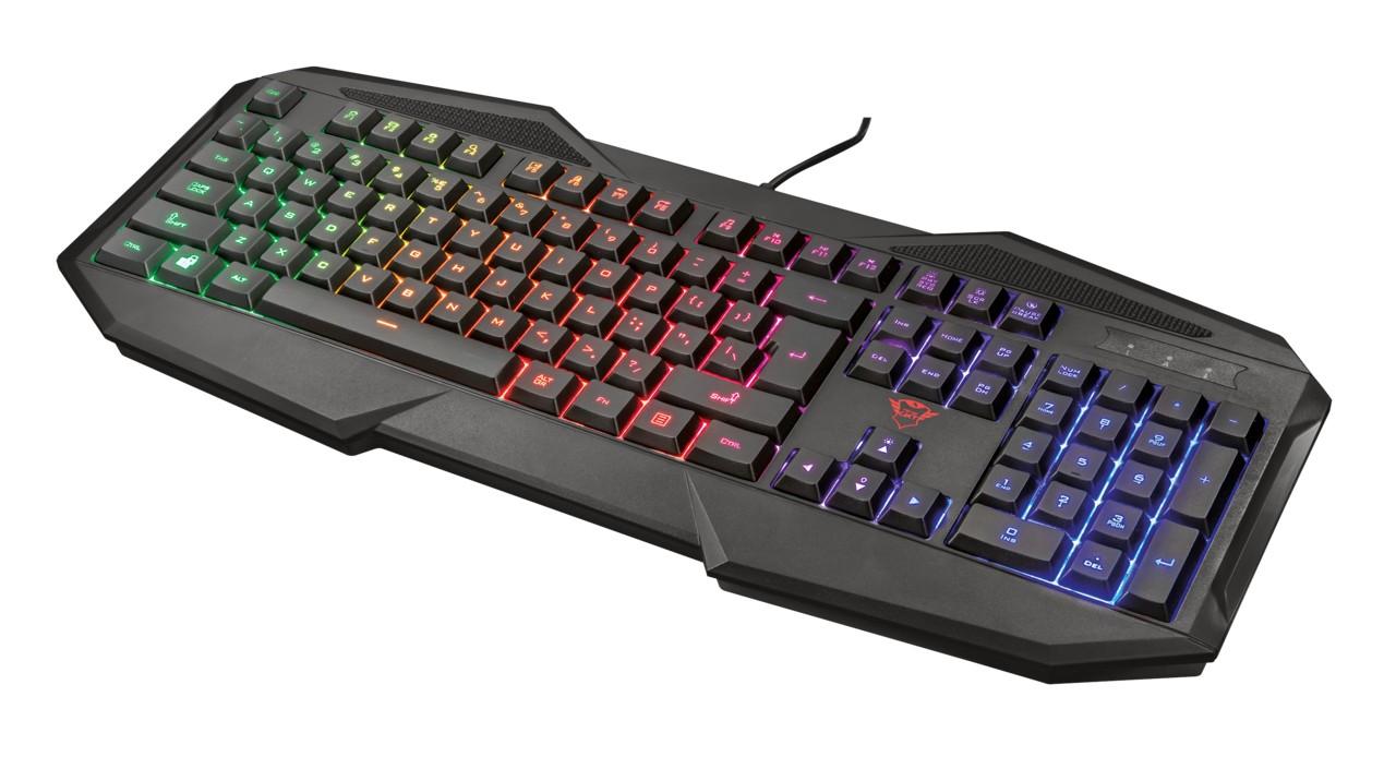 Drátová klávesnice GXT 830-RW Avonn Gaming Keyboard CZ/SK