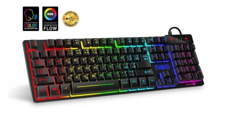 Drátová klávesnice Herní klávesnice Connect IT Neo (CKB-3590-CS)