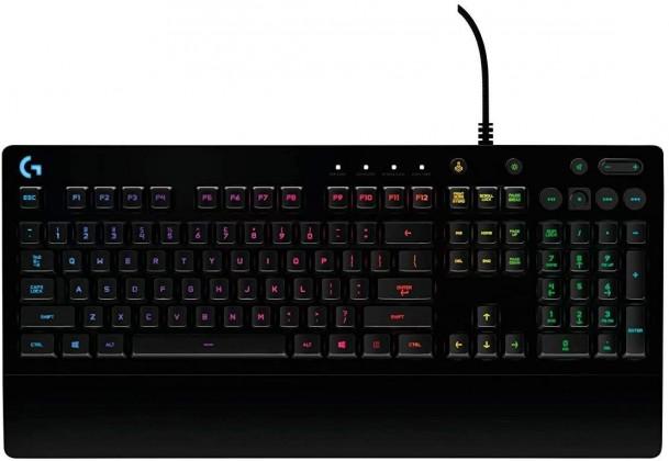 Drátová klávesnice Herní klávesnice LogitechŽ G213 Prodigy, US layout, černá
