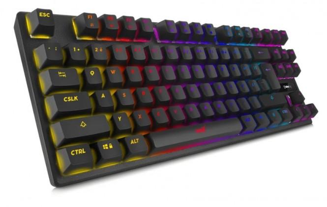 Drátová klávesnice Herní klávesnice Niceboy ORYX K300X, CZ, černá