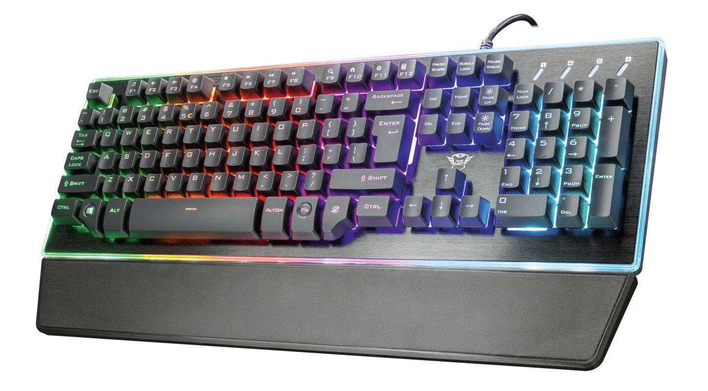 Drátová klávesnice Herní klávesnice Trust GXT 860 Thura (22286)