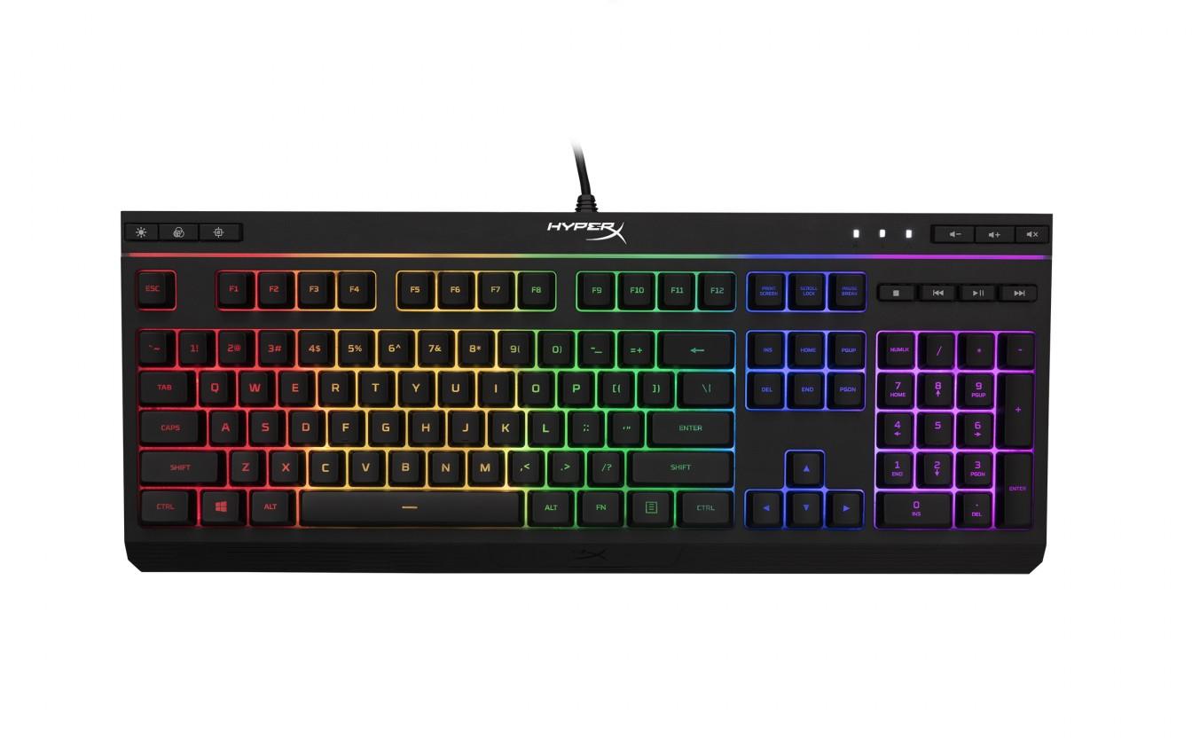Drátová klávesnice HyperX Alloy Core RGB herní  klávesnice