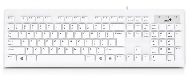 Drátová klávesnice Klávesnice Genius Slimstar 130