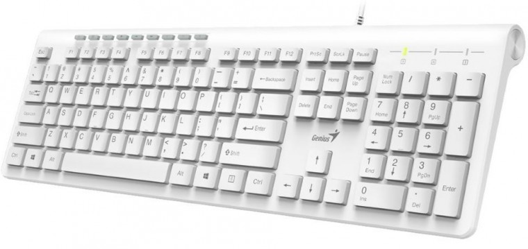 Drátová klávesnice Klávesnice Genius Slimstar 230 (31310010407)