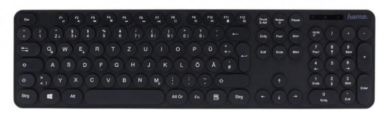 Drátová klávesnice Klávesnice Hama KC-500 (182674)