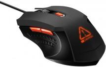 Drátová myš Canyon CND-SGM01RGB, herní, podsvícená, černá