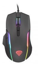 Drátová myš Genesis Xenon 220, herní, RGB, černá