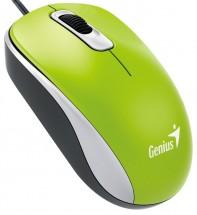 Drátová myš Genius DX-110, 1000 dpi, zelená