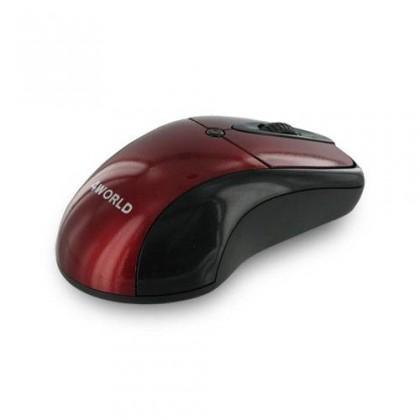 Drátové myši 4World STYLE, červená