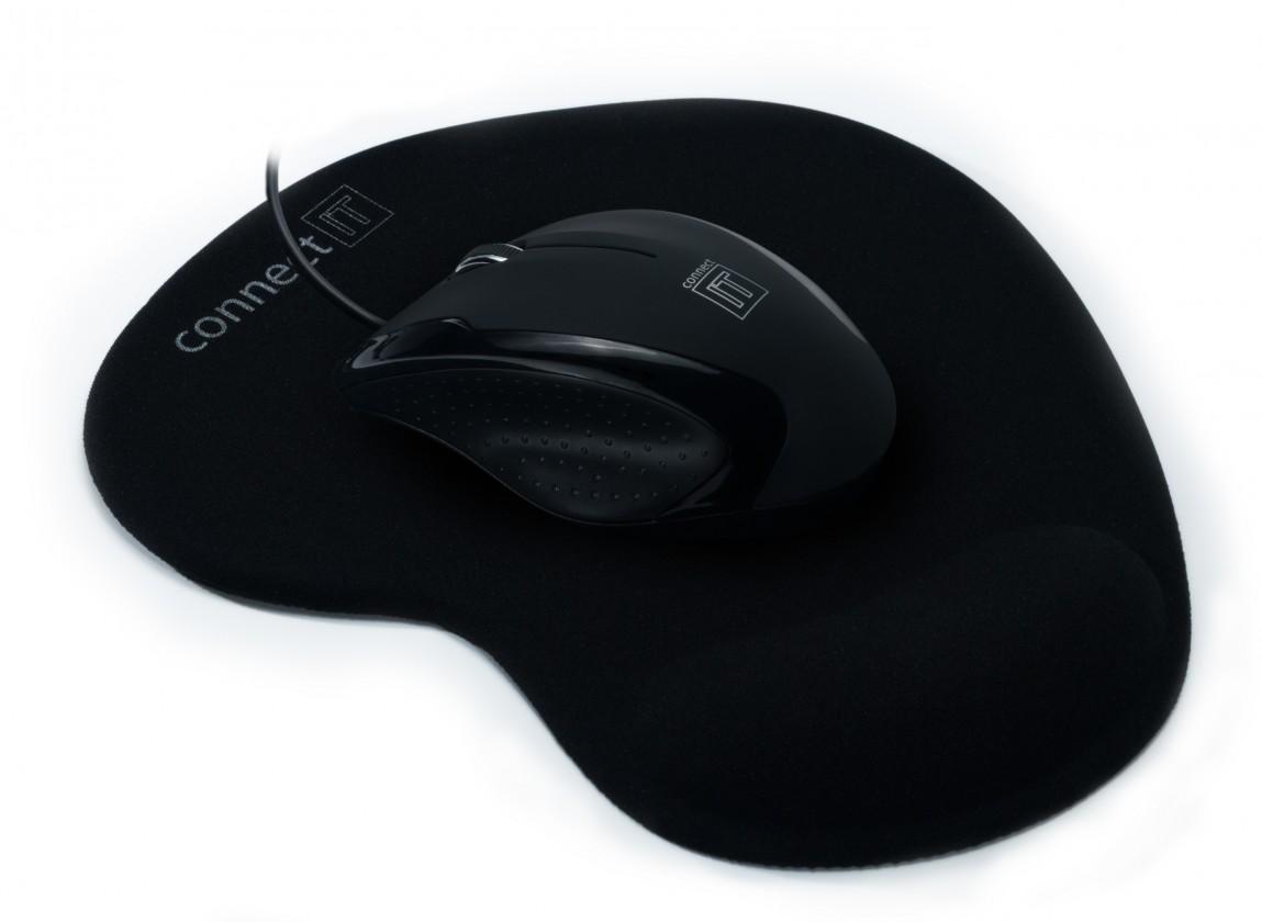 Drátové myši Connect IT CI-77, černá
