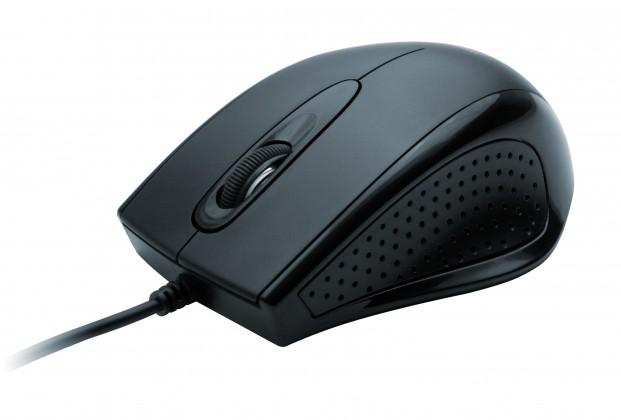 Drátové myši Connect IT ERGO CI-65, černá