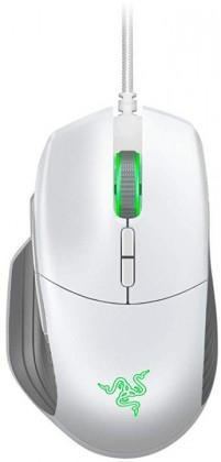 Drátové myši Drátová herní myš Razer Basilisk Mercury, 16 000 dpi, bílá