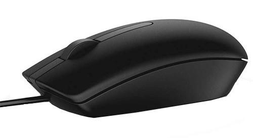 Drátové myši Drátová myš Dell MS116, černá