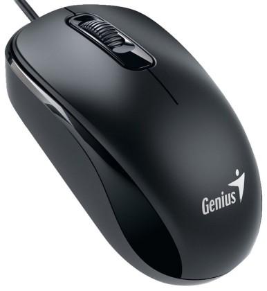 Drátové myši Genius DX-110, USB, černá 31010116107