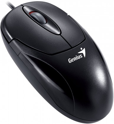 Drátové myši Genius Xscroll PS2 černá