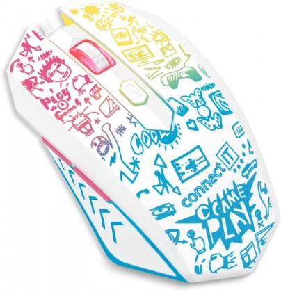 Drátové myši Herní myš Connect IT Doodle (CMO-1144-DD)