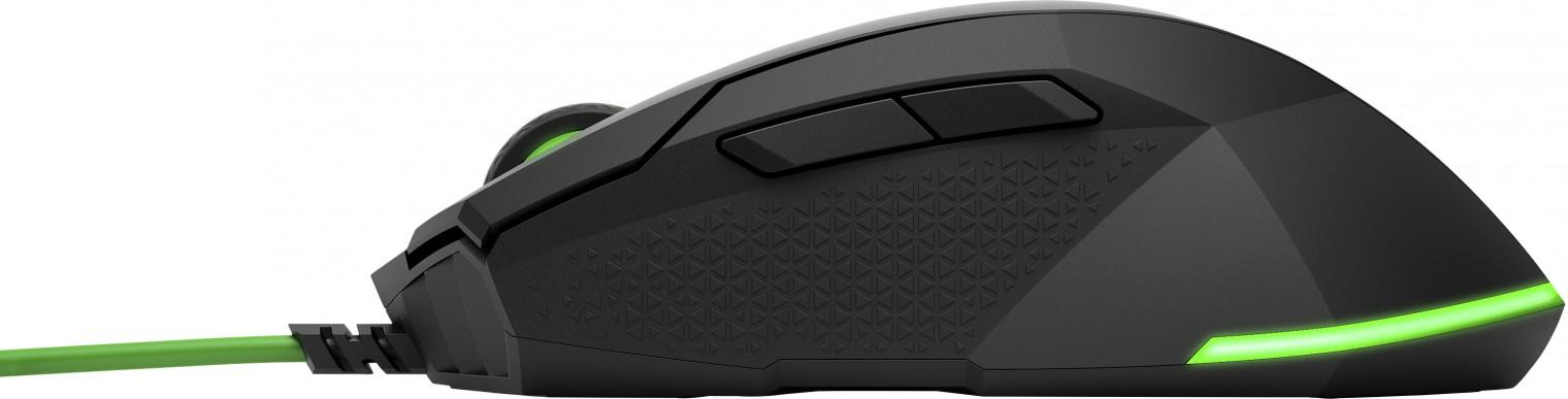 Drátové myši Herní myš HP 200 (5JS07AA)