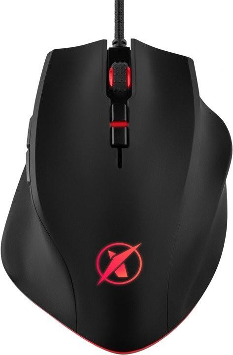 Drátové myši Herní myš Niceboy ORYX M600