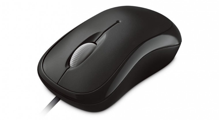Drátové myši Microsoft Basic Optical Mouse, černá